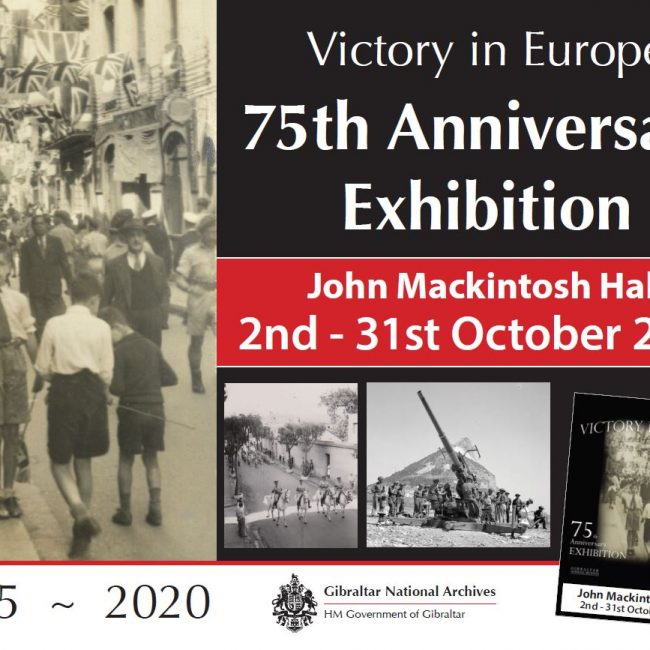 Victory in Europe/Gibraltar 75th Anniversary Exhibition