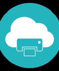 Paper Cloud Print Gibraltar