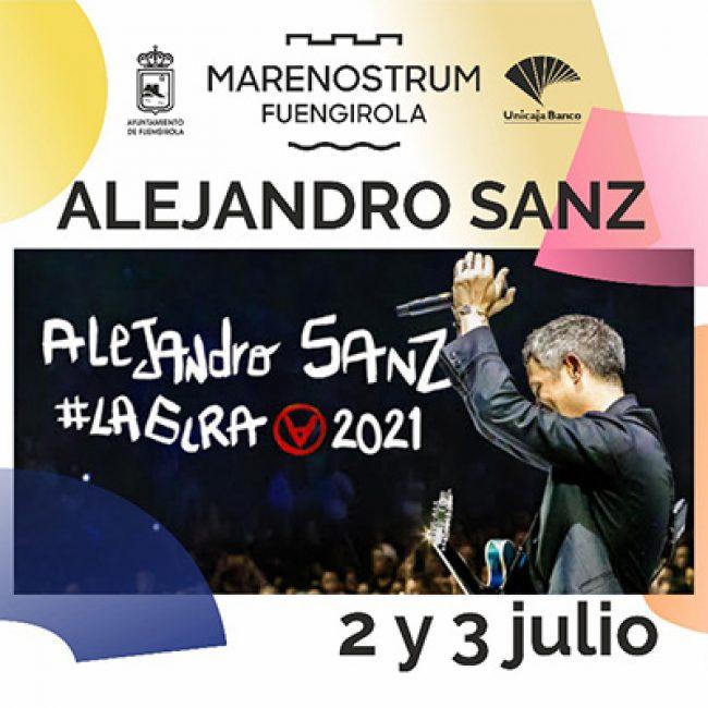 Alejandro Sanz en Fuengirola