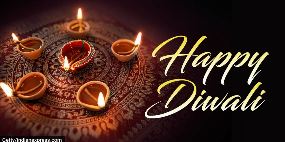 The Annual Hindu Diwali festival