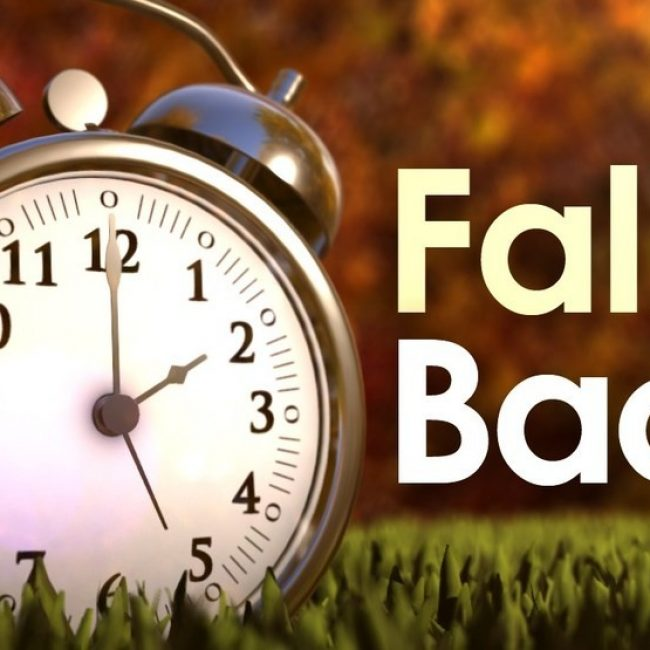 Spring forward, Fall back