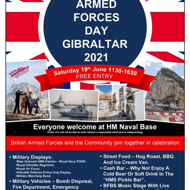 Armed Forces Day Gibraltar