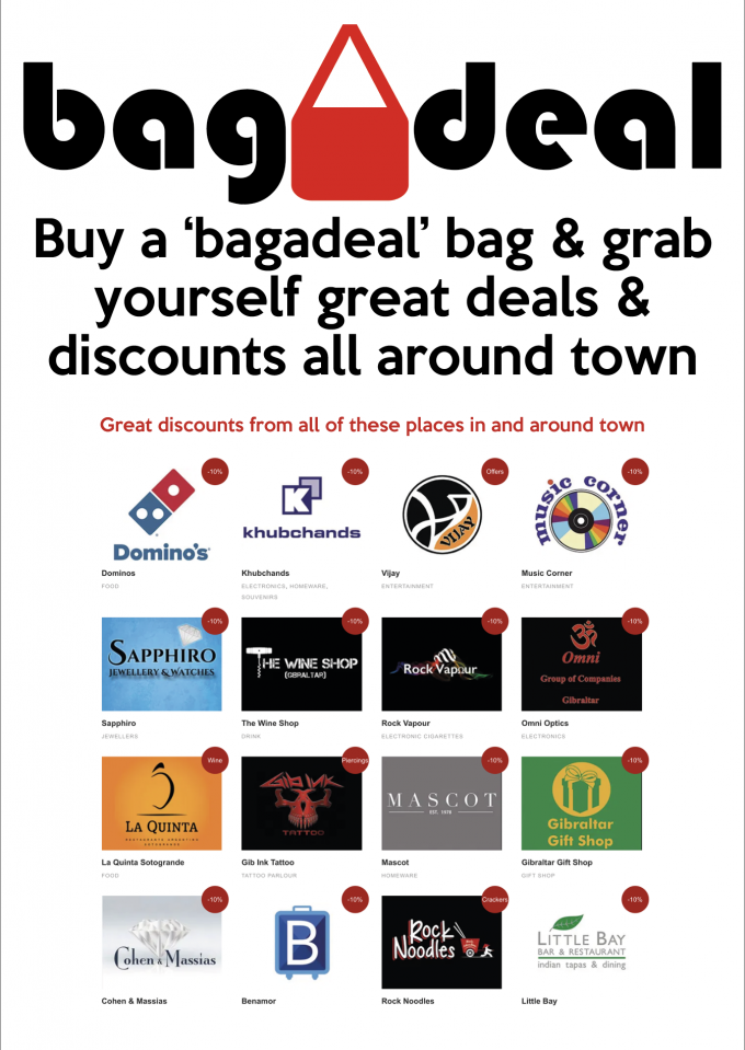 Great discounts all around town