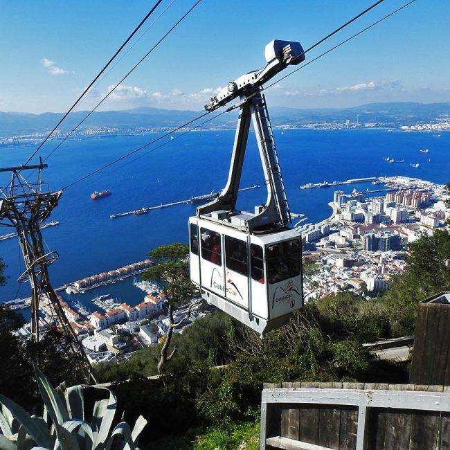 The Cable Car Ride, Gibraltar